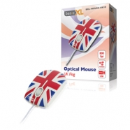 BasicXL BXL-MOUSE-UK10 myš optická UK design